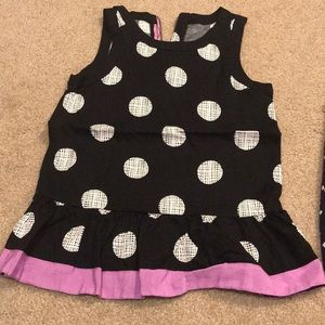 Gymboree cute summer top - dressy with zipper bk